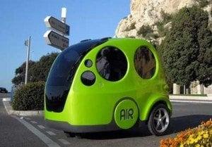 AirPod, un veicolo ecologico ad aria compressa